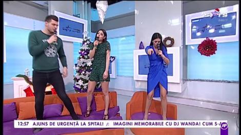Naty, Bote și Ralu cântă imnul Star Matinal