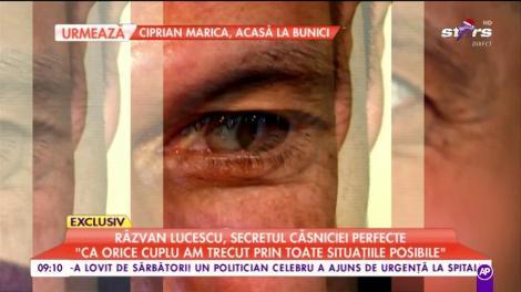 """Răzvan Lucescu, secretul unei căsnicii perfecte: """"Ca orice cuplu am trecut prin toate situațiile posibile"""""""