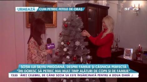 """Mihaela Prigoană, despre familie și căsnicia perfectă: """"Silviu este un bărbat atent"""""""
