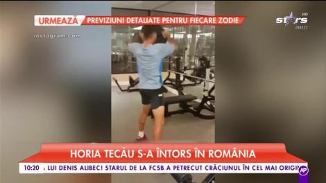 Horia Tecău s-a întors în Romania. Jucatorul de tenis s-a apucat de sport