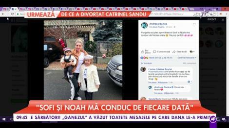 """Andreea Bănică, între carieră și viaţă de familie: """"Sofia și Noah mă conduc de fiecare dată"""""""