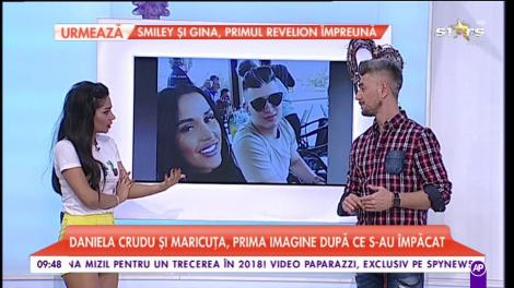 Daniela Crudu s-a întors la Maricuţa, fiul primarului milionar!