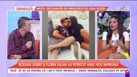 Bomba începutului de an! Florin Salam a iertat-o pe Roxana Dobre!