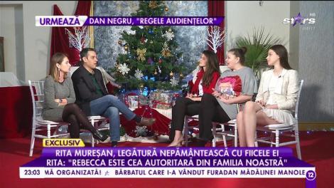 """Rita Mureșan, legătură nepământească cu fiicele ei: Rebecca: """"Încă de când eram mici obișnuiam să ne îmbrăcăm cu hainele făcute de mama"""""""
