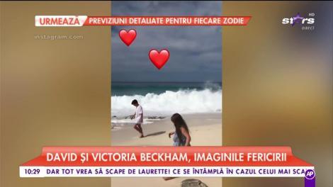 David și Victoria Beckham, imaginile fericirii. Unde petrece celebrul cuplu de milionari