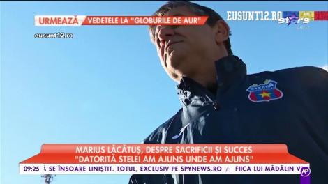 """Marius Lăcătuș, despre sacrificii și succes. """"Datorită Stelei am ajuns unde am ajuns"""""""