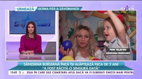 """Sânziana Buruiană încă își alăptează fiica de doi ani: """"Pentru copii, înseamnă un sentiment de protecție pe care îl oferă mama"""""""