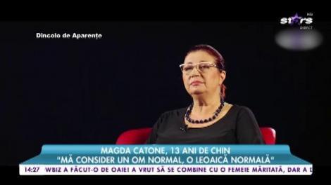 """Magda Catone, mărturisiri dureroase despre chinul prin care a trecut: """"A fost ca o penitenţă pentru mine, timp de 13 ani"""""""