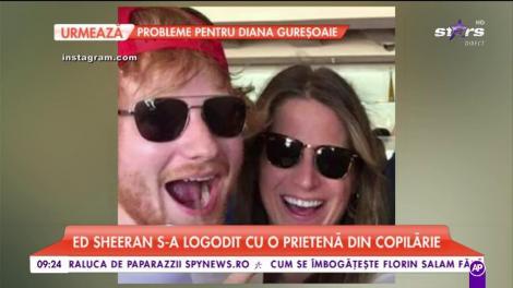 """Fanele artistului sunt în extaz! Ed Sheeran s-a logodit cu o prietenă din copilărie: Cum arată iubita """"Perfect(ă)!"""