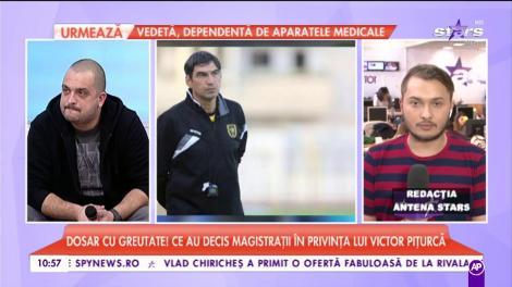 Dosar cu greutate! Ce au decis magistrații în privința lui Victor Pițurcă