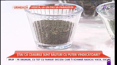 """Ce ceai să bei pentru sănătatea ta. Corina Bernschutz: """"Ceaiul cald îți reglează temperatura corpului"""""""