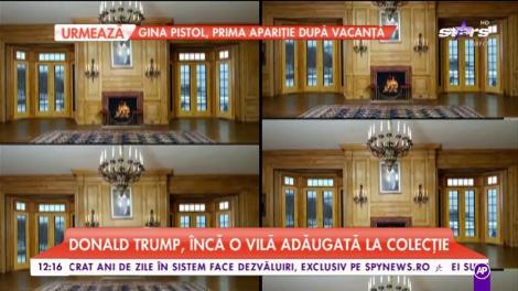 Donald Trump, încă o vilă adăugată la colecţie. A scos din buzunar 45 de milioane de dolari