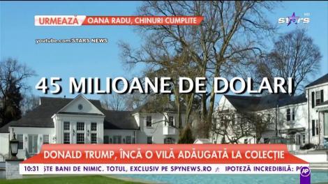 Cum arată una din casele lui Donald Trump. Președintele SUA are pasiuni costisitoare