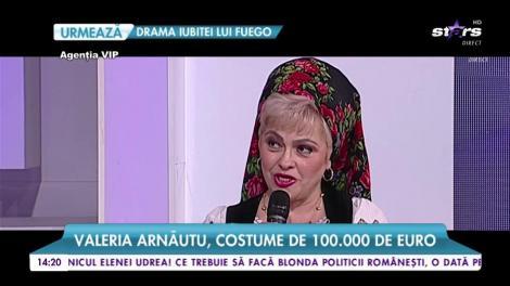 Valeria Arnăutu, costume de 100.000 de euro. Vedeta vorbește despre ținutele sale