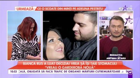 """Bianca Rus a luat decizia, vrea să își taie stomacul: """"Imi doresc să fiu frumoasă pentru mine și pentru sănătate!"""" Cum arată acum artista"""