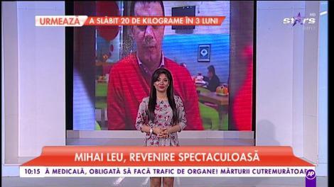 Mihai Leu, revenire spectaculoasă. Sportivul s-a vindecat de o boală cumplită