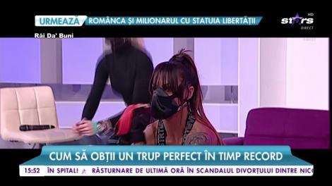 Cea mai sexy antrenoare de fitness din România