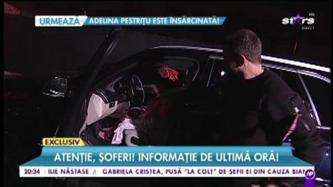 Saveta Bogdan, pentru prima dată la volan!