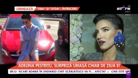 Adelina Pestrițu, surpriză uriașă chiar de ziua ei. Ce s-a întâmplat la miezul nopții