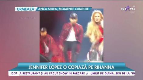 Jennifer Lopez o copiază pe Rihanna