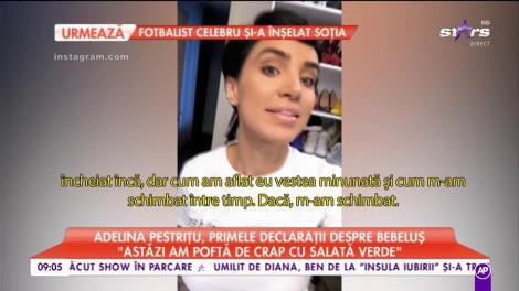 """Cea mai proaspătă graviduță! Adelina Pestriţu, primele declaraţii despre bebeluş: """"În primele luni de sarcină au apărut transformări..."""""""