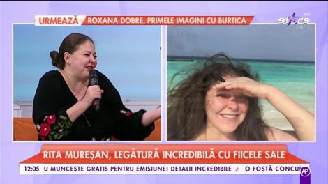 Rita Mureșan, legătura incredibilă cu fiicele sale.