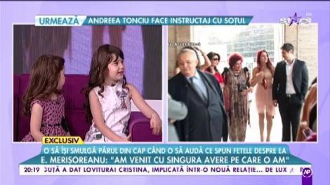 """Elena Merişoreanu, dată de gol de nepoate. Secretul pe care nu ar fi vrut niciodată să-l spună la televizor: """"Buni îşi mai pune încă un păr!"""""""