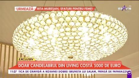 Imagini cu cel mai tare penthouse din Capitală. O singură canapea costă 7000 de Euro
