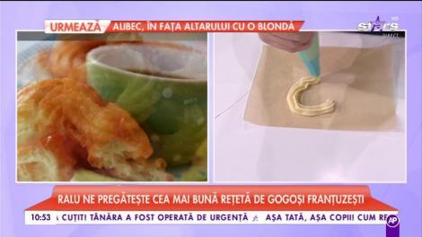 Raluca ne pregătește cea mai bună rețetă de gogoși franțuzești