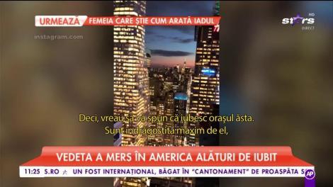 Adelina Pestrițu a plecat din România. Primele imagini cu vedeta în America