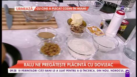 Ralu pregătește plăcintă cu dovleac