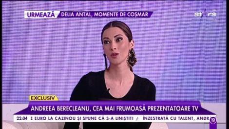 """Andreea Berecleanu, cea mai frumoasă prezentatoare de televiziune, un model al ambiției și perseverenței: """"Întotdeauna am ales simplitatea"""""""