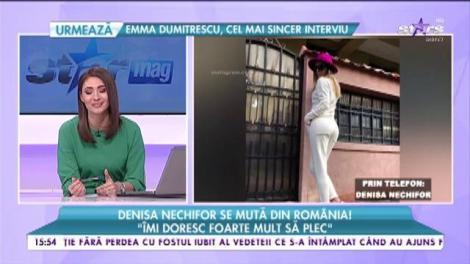 Denisa Nechifor se mută din România. Cine sau ce a făcut-o să ia această decizie
