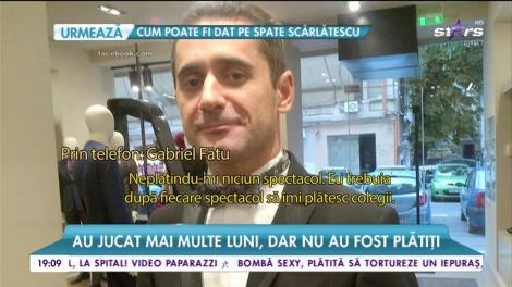 """Gabriel Fătu, secrete din """"Teatrul de pe Lipscani"""". Scandal monstru în lumea teatrului"""