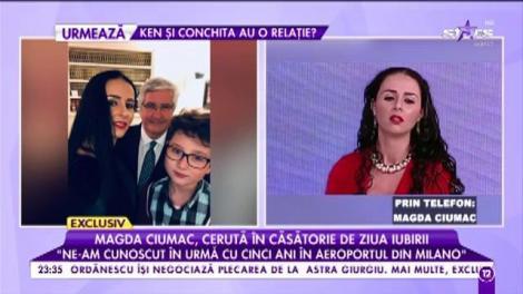 Magda Ciumac, fosta soție a lui Tolea, a pus mâna pe un miliardar. Italianul are o funcție importantă în stat
