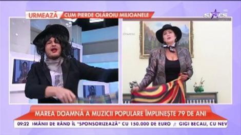 Sosia Irinei Loghin, la Star Matinal!