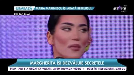 Margherita își dezvăluie secretele. Totul despre operațiile estetice pe care și le-a făcut