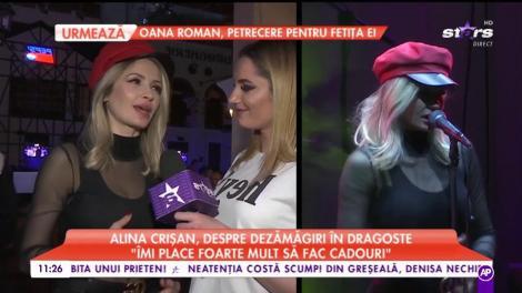 """Alina Crișan, despre dezamăgiri în dragoste: """"În ultimii ani am învățat să fac și declarații de dragoste"""""""