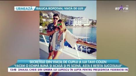 """Secretele din viața de cuplu a lui Tavi Colen: """"Facem o echipă bună și acasă și pe scenă"""""""