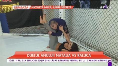 Duelul anului între Naty și Ralu! S-au antrenat cu profesioniștii pentru meciul decisiv