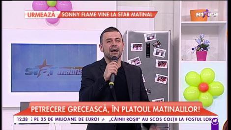 """Petrecere grecească, în platoul matinalilor! Îi facem """"botezul"""" lui Andrei ca la carte"""