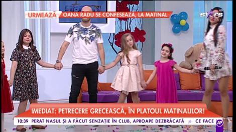 "Alina Sorescu a cântat melodia ""Miere în ceai"""