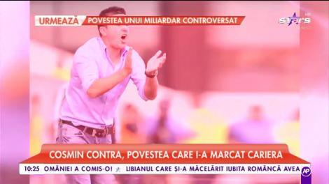 Cosmin Contra, povestea care i-a marcat cariera de fotbalist