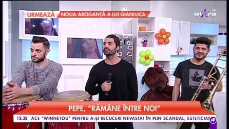 Pepe, despre muzică și formație. Artistul se cpncentrează pe cariera sa muzicală