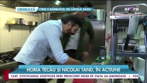 Festin culinar cu doi dintre cei mai sexy bărbați. Toria Tecău și Nicolai Tand, în acțiune