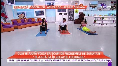 """Yoga, putere de vindecare! Cum îți schimbă viața: """"Îți poate trata diabetul, durerile de coloană vertebrală și depresie"""""""