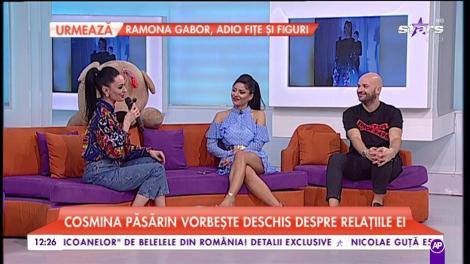Cosmina Păsărin vorbește deschis despre relația ei. Cine este marea dragoste a vedetei