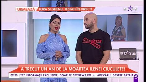 """A trecut un an de la moartea Ilenei Ciuculete. Cornel Galeș, parastas pentru """"Zânica lui"""""""