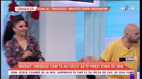 Maria cântă în cadrul emisiunii Star Matinal!