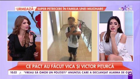 Ce păcat au făcut Vica și Victor Pițurcă. La ce înțelegere au ajuns de dragul copilului